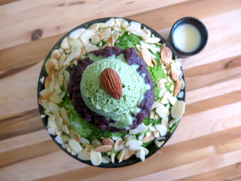 Nunsaram Korean Dessert Green Tea Bingsu
