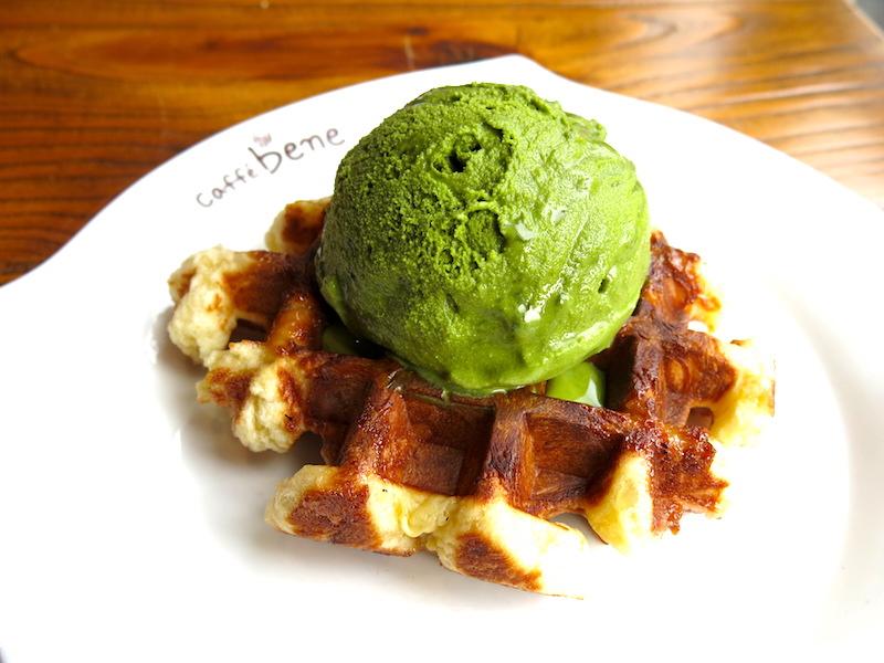 Caffe Bene Waffles 1