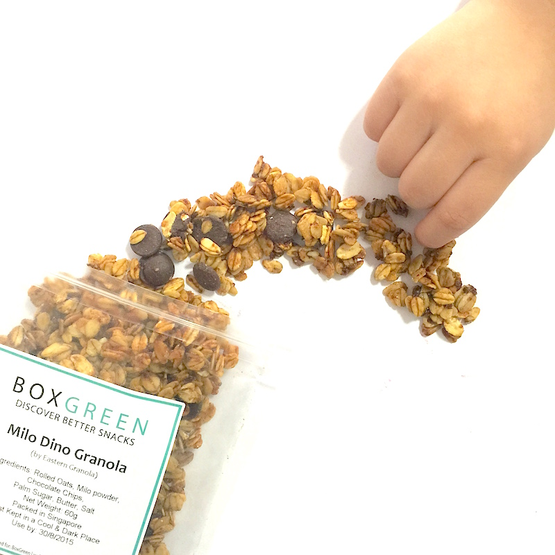 Boxgreen Singapore Snacks - Milo Dino Granola
