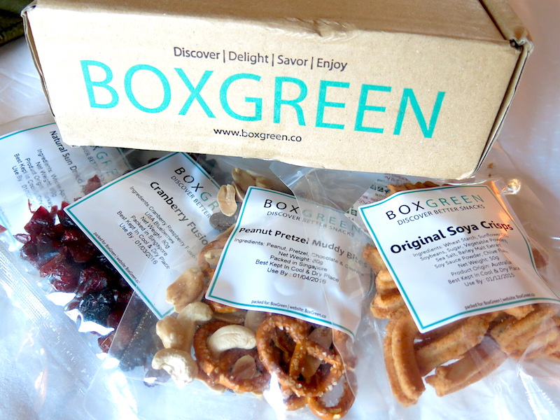 Boxgreen Singapore Snacks