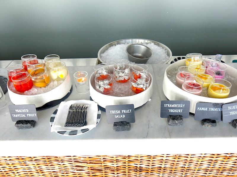 Yogurt and Salad Selections
