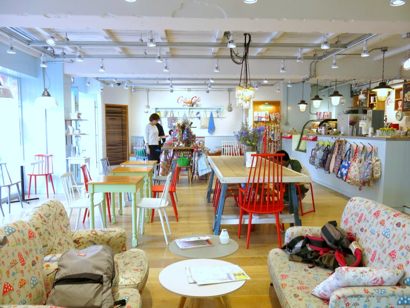 Cath Kidston Cafe Seoul Interior Design