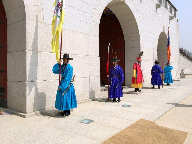 Gyeongbokgung palace Guard Changing