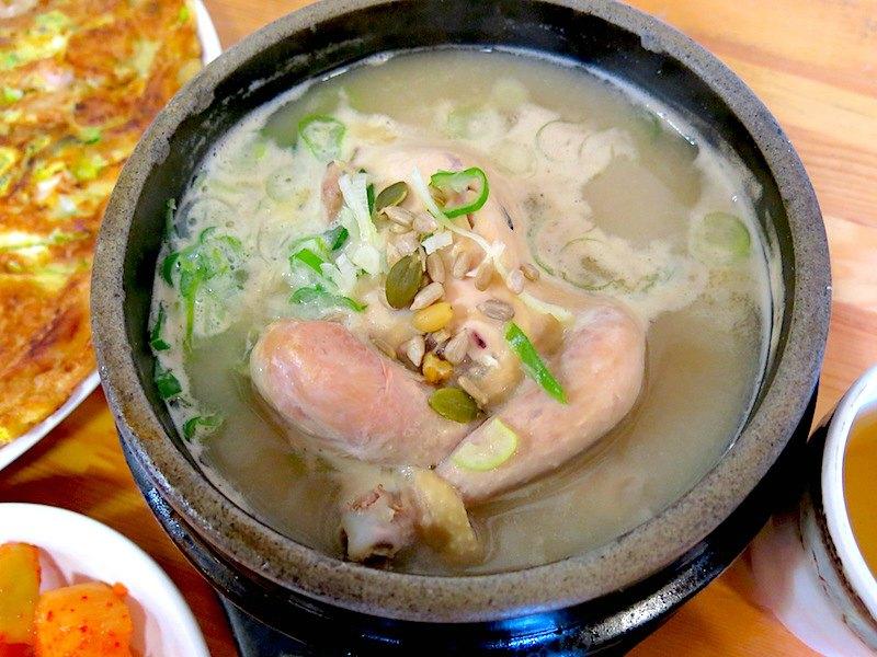 Tosokchon Chicken Stew with Ginseng