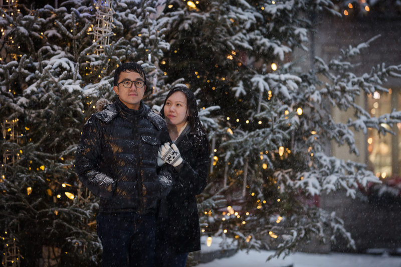 couple at Place Royale