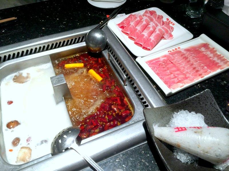 Hai Di Lao Singapore - Mala and Chicken Soup Base