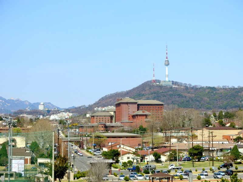 View of N Seoul Tower