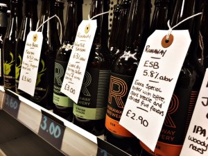 Craft Beers on offer at Northern Type