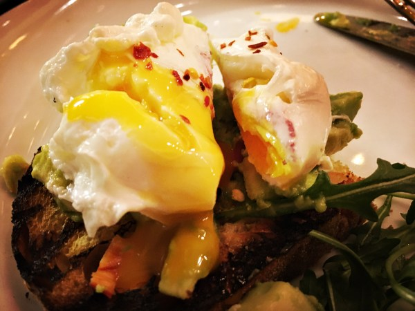 Poached Egg Perfection at the Refinery
