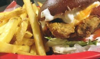 V REV Manchester Review – Vegan Burger Bar with a difference