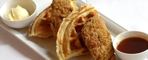 """chicken"" and waffles"