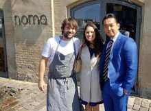 Chef Rene Redzepi, Caroline Gelabert-Noh, Sage Noh