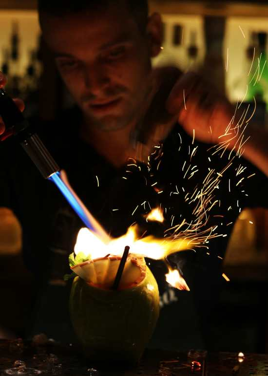 Paradiso Cocktail FIre