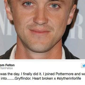 Tom Felton: I am a Gryffindor