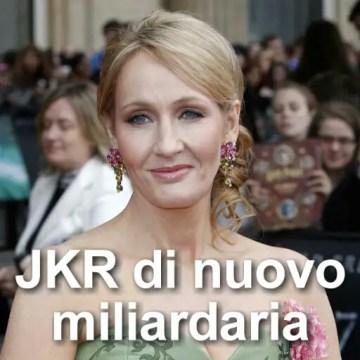 Jk rowling miliardaria