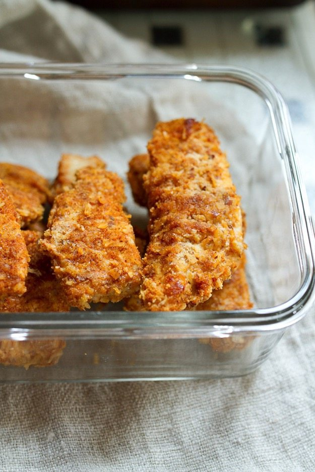 Paleo Crispy Baked Cereal Chicken