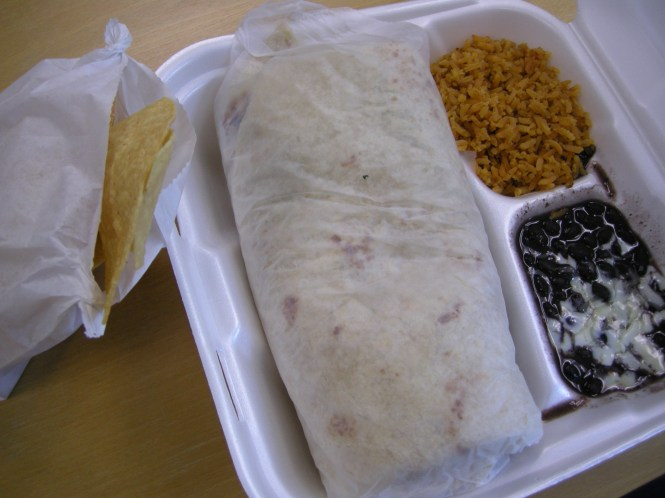 chubbys burrito meal