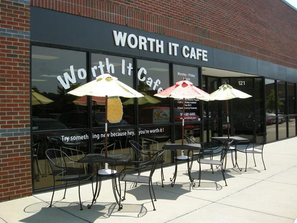 Worth It Cafe in Durham