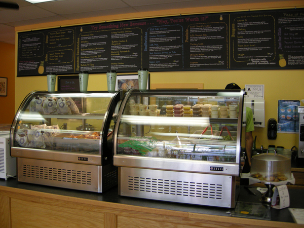 inside the Worth It Cafe