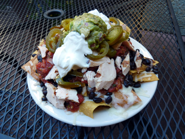 Nachos at Carrburritos