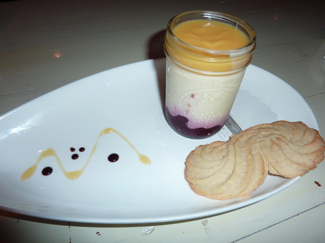 Lemon Posset with Berries