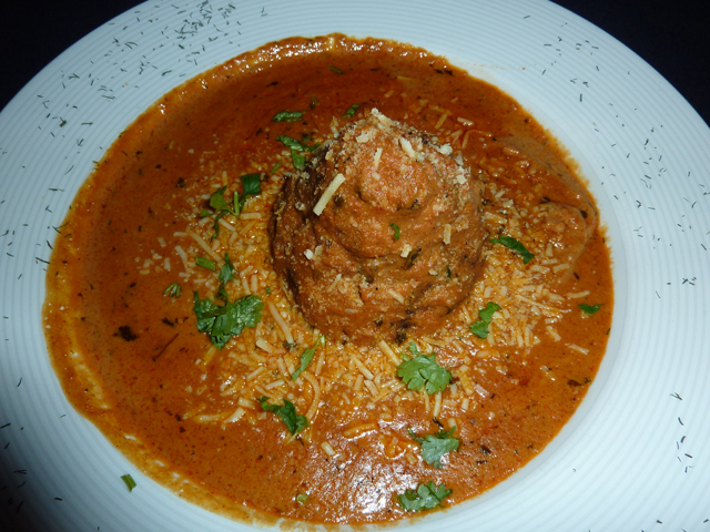 photo of the vegetable kofta dish