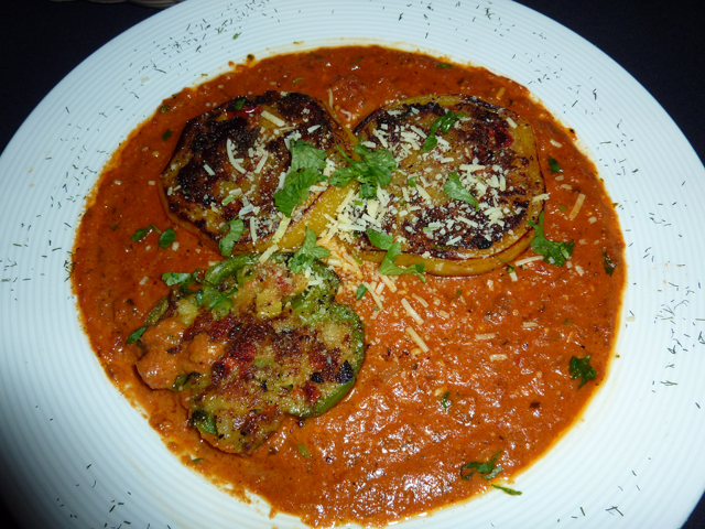 photo of the stuffed pepper dish