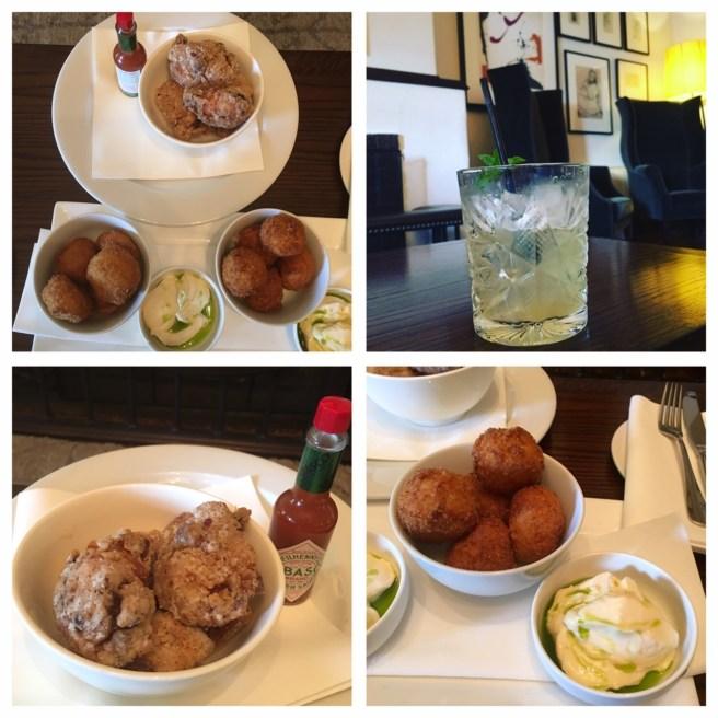 Peppers Mineral Springs Hotel food
