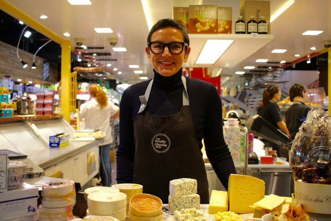 Helen from the smelly cheese shop at Adelaide Market