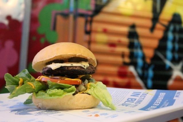 Easy burger Castello Blue