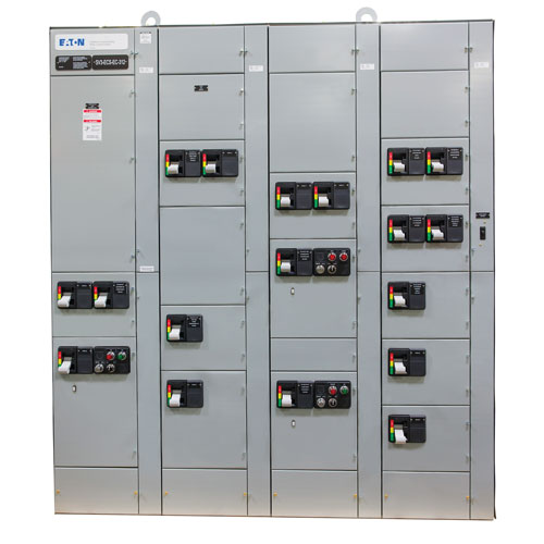 Smart MCCs Arc-resistant Racking Arc Flash Safety Eaton