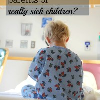 the encouragement project: how can I help parents of a seriously ill child?