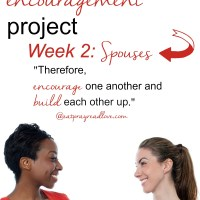 the encouragement project- week 2