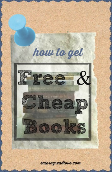 how to get free and cheap books!