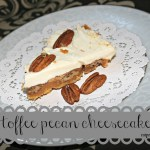 Toffee Pecan Pie Cheesecake