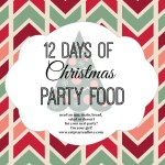 12 Days of Christmas Party Food {Gluten Free Pao de Queijo}