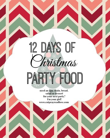 Need Christmas party food? Need an app, salad,bread, a main or dessert? I'm your girl!