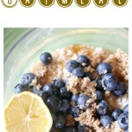 Lemon Blueberry Oatmeal