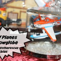 Planes-inspired Snowglobe
