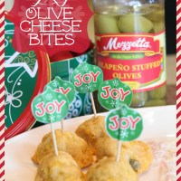 Spicy Olive Cheese Bites- Holiday Recipes