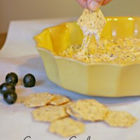 Creamy Caliente Olive Cheese Dip