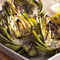 Giveaway! Plus Grilled Artichokes with Roasted Garlic-Lemon Dipping Sauce