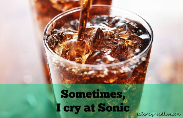 sometimes I cry at sonic