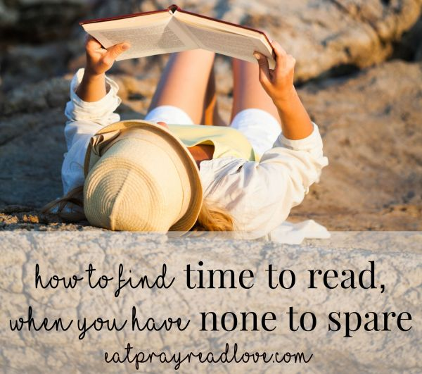 how to find time to read when you have none to spare FB