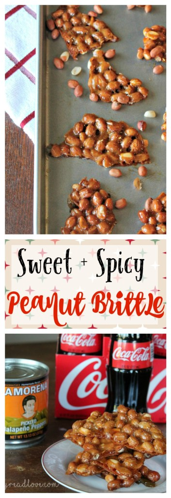 This sweet and spicy peanut brittle is a fun update on a traditional holiday classic. You'll love it!