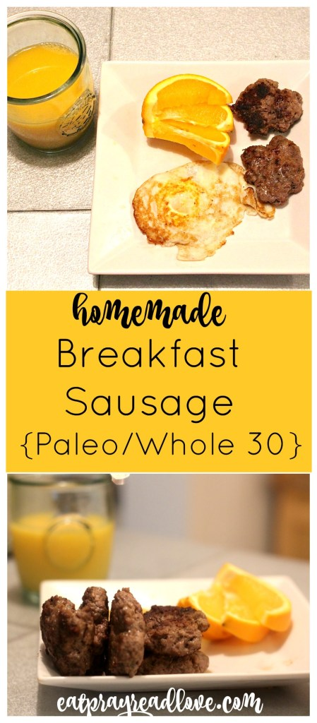 Having trouble finding Paleo breakfast sausage that doesn't break the bank? Making homemade is much easier than you think, and much healthier!