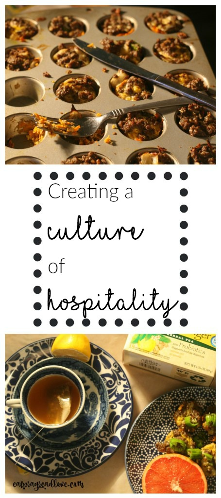 creating a culture of hospitality pinterest