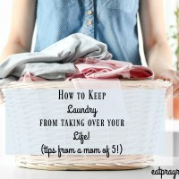How Laundry Day is *Almost* Fun