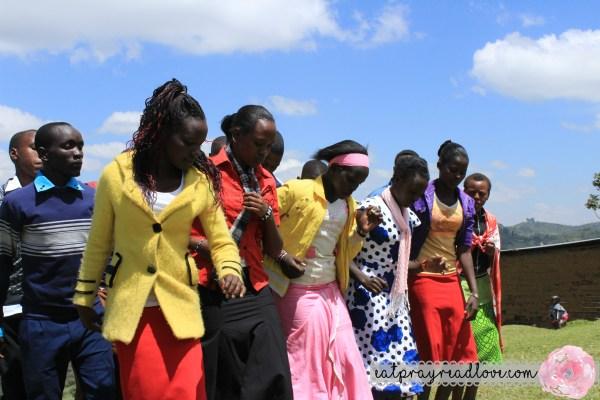 Maasai teens
