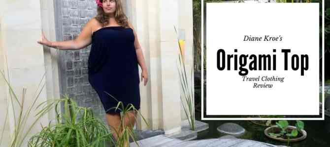 From Dress to Top and Back: Diane Kroe Origami Top